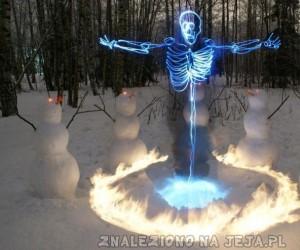 Bałwany wywołują duchy