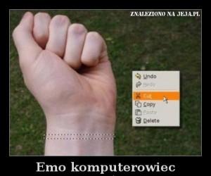 Emo komputerowiec