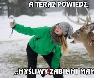 Nie ma to jak fotka z Bambim