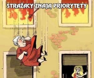Strażacy znają priorytety