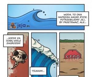 So wa typ! Niebezpieczna woda
