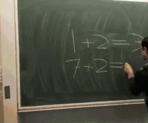 Gdy na chwilę przestaniesz uważać na lekcji matematyki