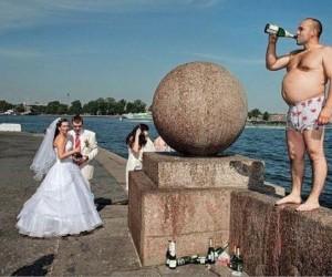 Jak zepsuć komuś zdjęcie ślubne?