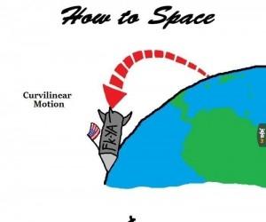 Jak polecieć w kosmos?