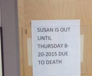 The Walking Susan
