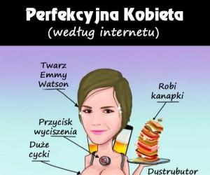 Idealna kobieta wg Internetu