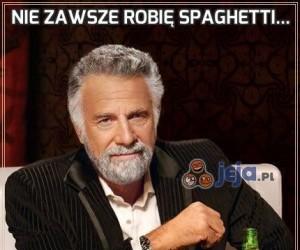 Nie zawsze robię spaghetti...