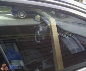 Zabezpieczenie kierownicy