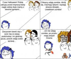 Halloweenowa wpadka