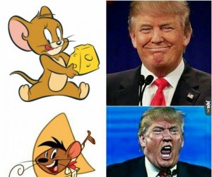 Myszy i Trump