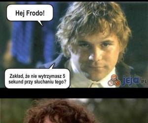 A może zakładzik, panie Frodo?