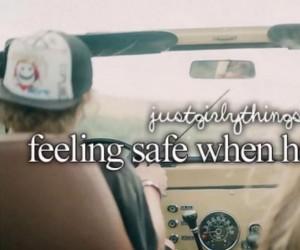Poczucie bezpieczeństwa, gdy on prowadzi