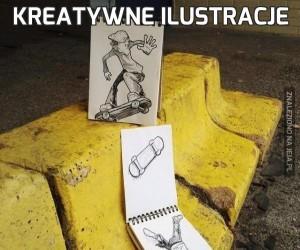 Kreatywne ilustracje