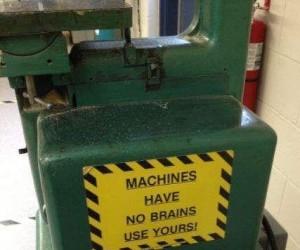 Używaj mózgu - maszyny go nie mają