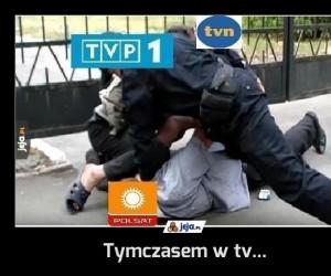 Tymczasem w tv...