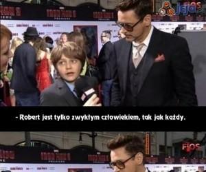 Robert Downey Jr z ciętą ripostą