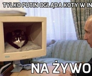 Dziwne hobby Putina