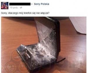 Problem z telefonem