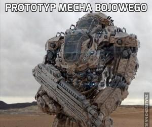 Prototyp mecha bojowego