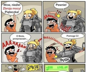 Power armor nie dla wszystkich