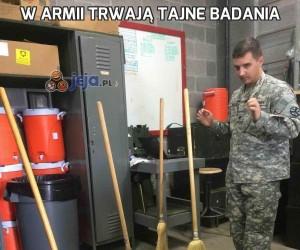 W armii trwają tajne badania