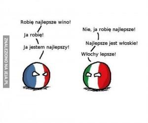 Francja i Włochy takie są