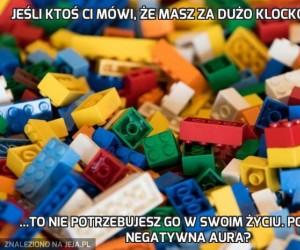 Jeśli ktoś Ci mówi, że masz za dużo klocków Lego...