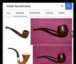 Brytyjski miotacz ognia