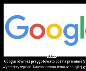 Google również przygotowało coś na premierę Star Wars