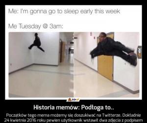 Historia memów: Podłoga to..