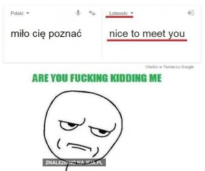 Łotewski tak bardzo