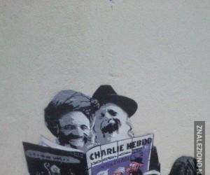 Całkiem świeży streetart