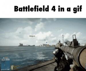 Battlefield 4 w jednym gifie