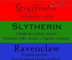 Co zrobią osoby z różnych domów Hogwartu