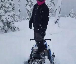 Śnieżny skok