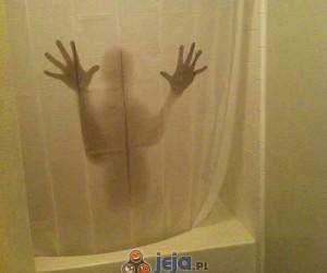 Nowa zasłona pod prysznic