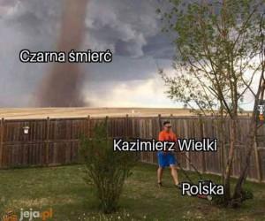 Czarna śmierć ominęła Polskę dzięki królowi