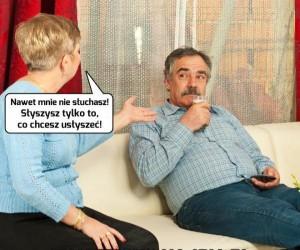 Typowa kłótnia w małżeństwie