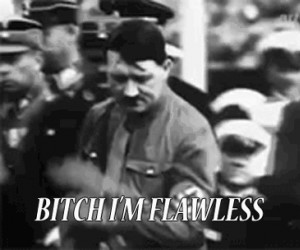 Adolf i jego fryzura