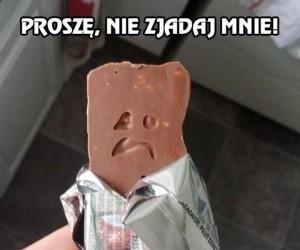 Proszę, nie zjadaj mnie!