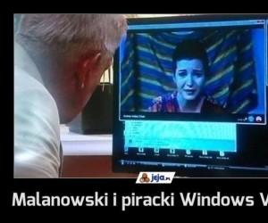 Malanowski i piracki Windows Vista