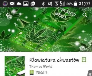 "Klawiatura ""chwastów"""