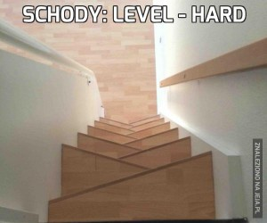 Schody: Level - hard