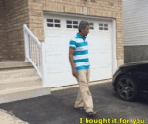 Prezent od syna dla ojca