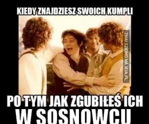 Zagubieni w Sosnowcu