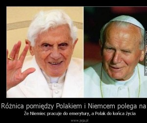 Różnica pomiędzy Polakiem i Niemcem polega na tym