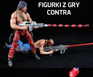 Figurki z gry Contra