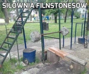 Siłownia Filnstonesów