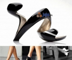 Oryginalne buty na obcasie