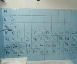Łazienka chemika